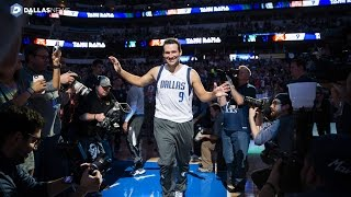 Download Tony Romo is called in the Dallas Mavericks starting line up Video