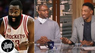 Download James Harden's usage rate amazes Tracy McGrady and Scottie Pippen | The Jump Video