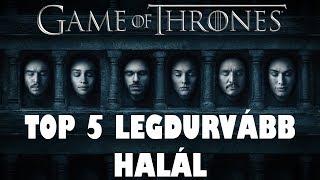 Download TOP 5 LEGDURVÁBB HALÁL A TRÓNOK HARCÁBAN Video