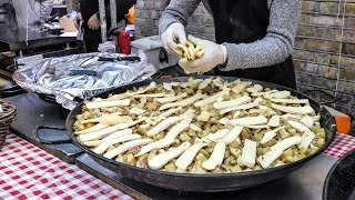 Download French ″Tartiflette″ Made in the Street of London. French Street Food Video