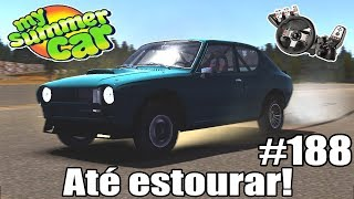 Download My Summer Car - CAVALO DE PAU ATÉ O PNEU ESTOURAR! #188 Video