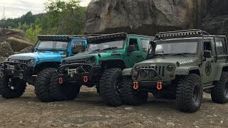 Download TRX-4 | SCX10(CJ10) | RCModelex | 3 Rubicon JK rock Trails Video