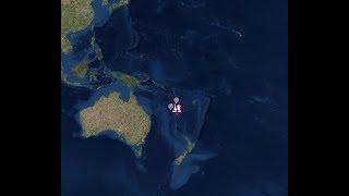 "Download Breaking news ""Mega Mega 7.3 Quake Shakes New Caledonia"" Tsunami Threat In Effect Video"