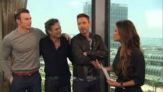 Download Robert Downey Jr. & 'Avengers' Cast Unleash 'Age of Ultron' Details & Big Laughs at Comic-Con Video