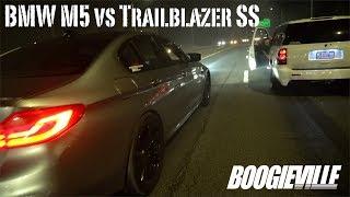 Download Brand new M5 vs Trailblazer SS Video