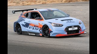 Download Hyundai RM19 Racing Midship Sports Car Prototype In Action Video