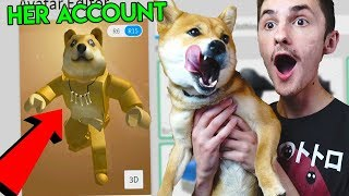Download MAKING MY DOG A ROBLOX ACCOUNT! *DOGE!* Video