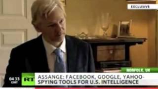 Download Julian Assange: Facebook, Google, Yahoo is spying on you Video