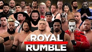 Download WWE 2K17 - 30 Man Royal Rumble With 10+ Surprise Entrants! Video