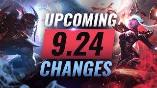 Download MASSIVE CHANGES: New Buffs & REWORKS Coming in Patch 9.24 - League of Legends Video