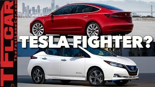 Download Can The New Nissan Leaf PLUS Take on the Tesla Model 3? Hint: It Now Has a Range of 226 Miles-Review Video