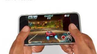 Download Asphalt 4: Elite Racing iPhone/iPod touch trailer Video