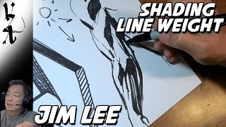 Download Jim Lee Demonstrating Line Weight and Shading Video