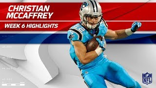 Download Christian McCaffrey's Big Night w/ 10 Catches! | Eagles vs. Panthers | Wk 6 Player Highlights Video