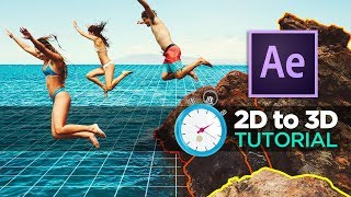Download How to Animate 2D Photos in 3D EASY ! - After Effects & VoluMax TUTORIAL Video