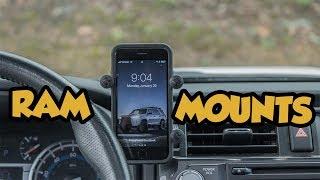Download Installing a Ram Mount into a 5th Gen Toyota 4runner Video