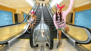 Download 24 Hour Overnight Challenge in a Mall Video