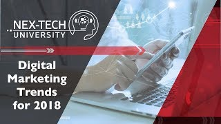 Download Digital Marketing Trends for 2018 Video