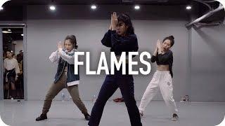 Download Flames - David Guetta & Sia / Jin Lee Choreography Video