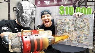 Download $10,000 IF ANY YOUTUBER CAN BREAK THE BOX!! (UNBREAKABLE GLASS CHALLENGE) Video