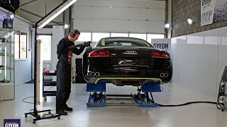 Download High-end Car Detailing demo video - Audi R8 exclusive detailing behandeling Video