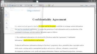 Download Highlighting Text In Adobe Reader X Video