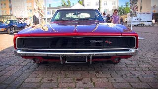 Download ULTRACOOL 1968 Dodge Charger R/T 440 - startup and great V8 sound Video