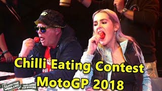 Download Chilli Eating Contest MotoGP Silverstone Woodlands August 2018 Video