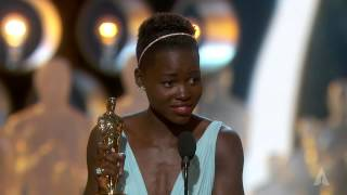 Download Lupita Nyong'o winning Best Supporting Actress Video