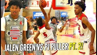 Download Jalen Green vs PJ Fuller Part 2!!! #1 vs #2 Shooting Guards Face OFF Again! Video