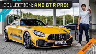 Download IT'S HERE!! Collecting My 2019 AMG GT-R PRO! Video