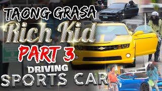 Download ″Taong Grasa (Homeless) / Rich Kid″ PRANK PART 4 (Driving Sports Car) Video