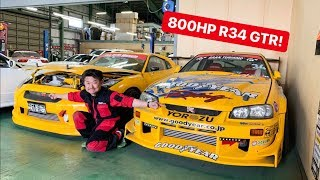 Download CAR SHOPPING FOR R34 GTR's IN JAPAN! Video