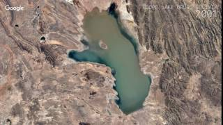 Download Google Timelapse: Poopo Lake, Oruro, Bolivia Video