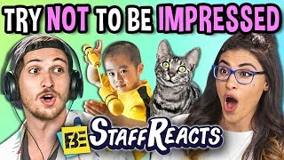 Download Try Not To Be Impressed Challenge (ft. FBE Staff) Video