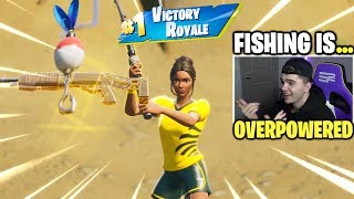 Download Fishing a NEW WEAPON after every kill in Fortnite! Video
