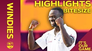 Download Windies vs England 2nd Test Day 3 2019 | Bitesize Highlights Video