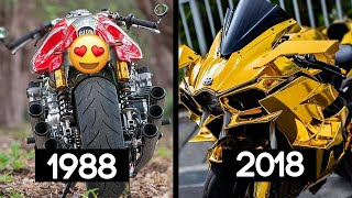 Download 30 YEARS of sportbikes sounds in just 1 video! - Better or worse? 🤔 Video