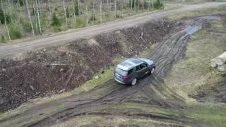 Download Land Rover Discovery 5 offroad test drive Video