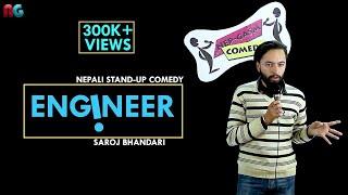 Download Engineer   Nepali Stand-up Comedy   Saroj Bhandari   Nep-Gasm Comedy Video