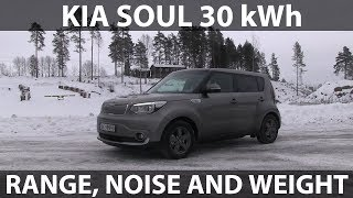 Download Kia Soul 30 kWh range, noise and weight tests Video