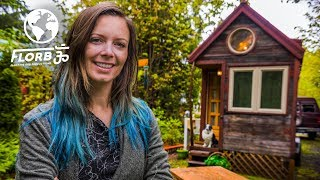 Download Woman lives in a Tiny House so She Can Travel the World Video