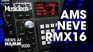 Download How close is Neve's new AMS RMX16 500 reverb to the original? #NAMM2020 Video