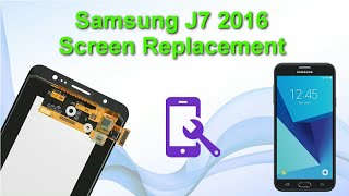 Download Samsung J7 2016 screen replacement repair Video