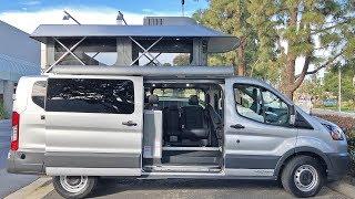 Download Modular Pop Top Ford Transit Camper Van Walk Through | ModVans CV1 Video