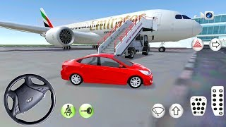 Download Hyundai Accent In Driving Class Simulator - Airport and Gas Station Location - Android Gameplay Video