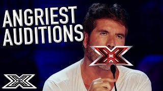 Download When Judges and Contestants ARGUE! | X Factor Global Video