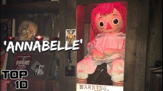 Download Top 10 Scary Items At The Warren Occult Museum Video