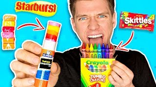 Download DIY Edible School Supplies!!! *FUNNY PRANKS* Back To School! Learn How To Prank using Candy & Food Video