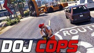 Download Dept. of Justice Cops #186 - Elaborate Fleeca Heist (Criminal) Video